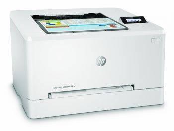 Принтер HP Color LaserJet Pro M254nw белый