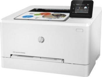 Принтер HP Color LaserJet Pro M254dw белый (T6B60A)