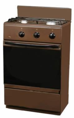 Плита газовая Flama CG 3202 B коричневый