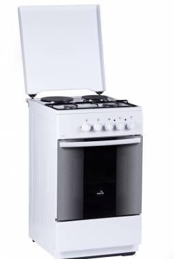 Плита комбинированная Flama RK 2211 W белый