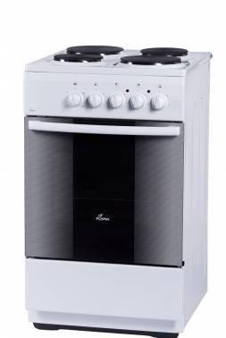 Плита электрическая Flama FE 1403 W белый