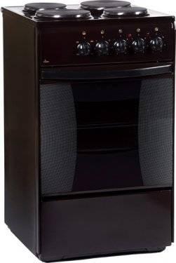 Плита электрическая Flama FE 1403 B коричневый