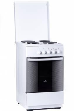 Плита электрическая Flama FE 1401 W белый
