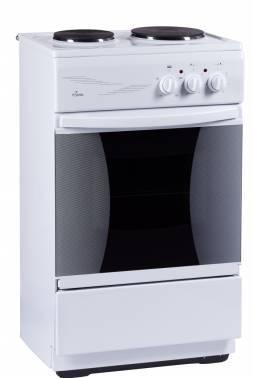 Плита электрическая Flama CE 3201 W белый