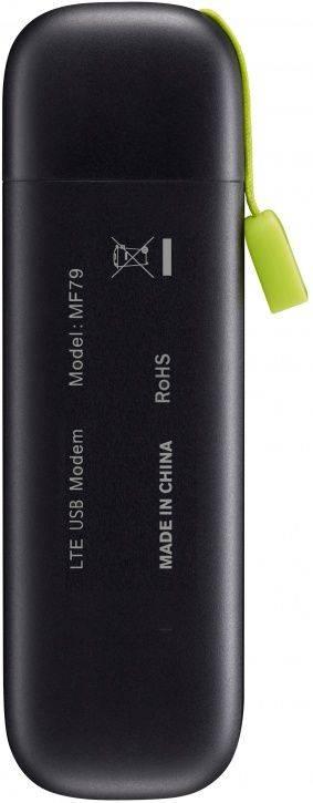 Модем 2G/3G/4G ZTE MF79 USB черный - фото 2