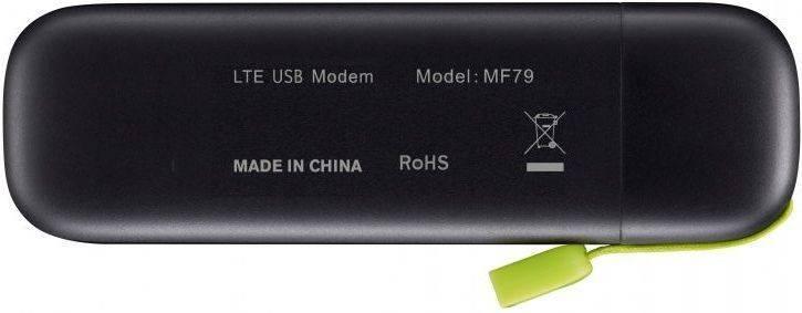 Модем 2G/3G/4G ZTE MF79 USB черный - фото 4