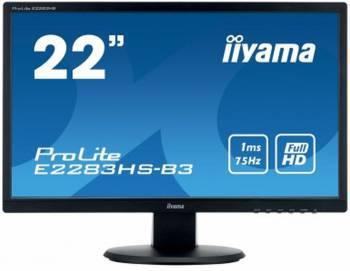 """Монитор 21.5"""" Iiyama ProLite E2283HS-B3 черный"""