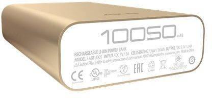 Мобильный аккумулятор ASUS ZenPower ABTU005 золотистый (90AC00P0-BBT078) - фото 2