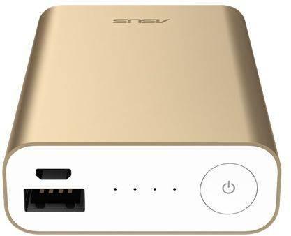Мобильный аккумулятор ASUS ZenPower ABTU005 золотистый (90AC00P0-BBT078) - фото 9