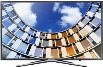 Телевизор LED Samsung UE32M5503AUXRU титан, диагональ экрана 32 (81.28 см), FULL HD (1080p), частота обновления 100Hz, тюнер DVB-T2, DVB-C, DVB-S2, USB разъем, встроенный WiFi, поддержка Smart TV