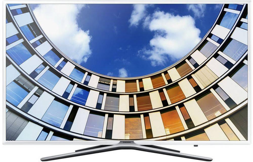 """Телевизор LED 43"""" Samsung UE43M5513AUXRU белый - фото 1"""
