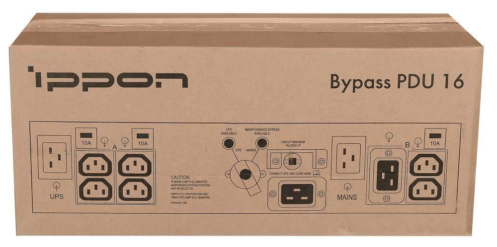 Байпас Ippon BP PDU16 IEC 10A (1000795) - фото 10