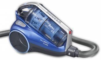 Пылесос Hoover TRE1420 019 синий, мощность 1400Вт, уборка: сухая, объем пылесборника 2.5л