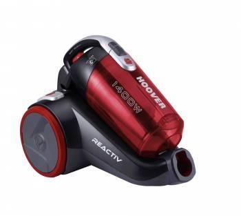 Пылесос Hoover RC1410 019 красный, мощность 1400Вт, уборка: сухая, объем пылесборника 2л