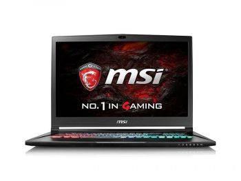 Ноутбук 17.3 MSI GS73VR 7RF(Stealth Pro)-437RU (9S7-17B112-437) черный