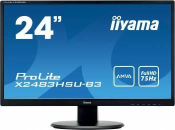 """Монитор 24"""" Iiyama ProLite X2483HSU-B3 черный"""