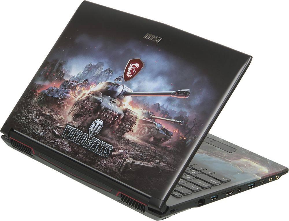 """Ноутбук 15.6"""" MSI GP62M 7RDX(WOT Edition)-2097XRU черный (9S7-16J9E2-2097) - фото 2"""