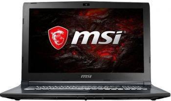 Ноутбук 15.6 MSI GL62M 7RDX-2099RU (9S7-16J962-2099) черный