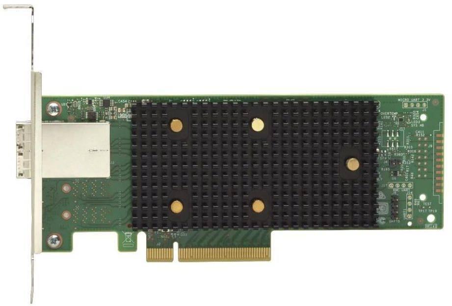 Адаптер Lenovo 7Y37A01090 ThinkSystem 430-8e SAS/SATA 12Gb HBA - фото 1