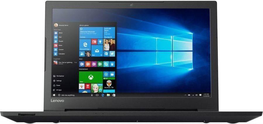 "Ноутбук 15.6"" Lenovo V110-15ISK черный (80TL00DBRK) - фото 1"