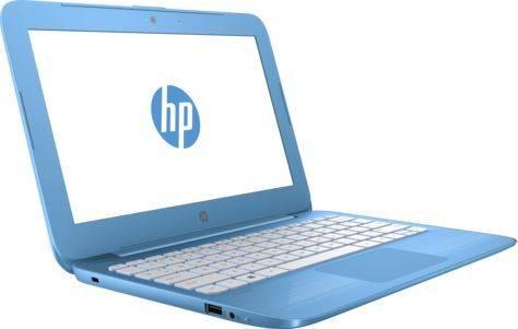 """Ноутбук 11.6"""" HP Stream 11-y008ur (2EQ22EA) голубой - фото 2"""