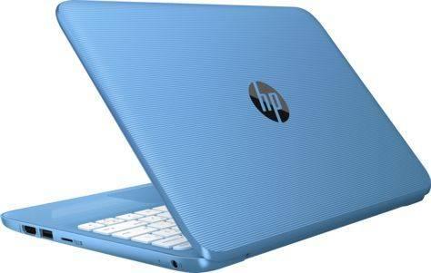 """Ноутбук 11.6"""" HP Stream 11-y008ur (2EQ22EA) голубой - фото 5"""