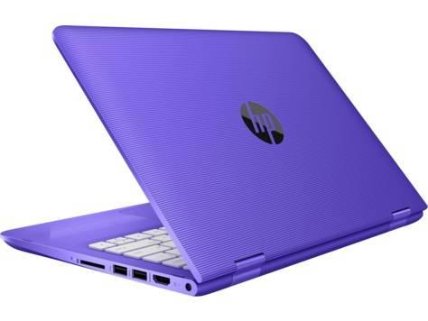 "Трансформер 11.6"" HP x360 11-aa010ur (2EQ09EA) фиолетовый - фото 4"