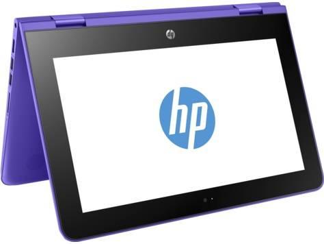 "Трансформер 11.6"" HP x360 11-aa010ur (2EQ09EA) фиолетовый - фото 5"