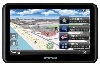 """GPS-навигатор Digma ALLDRIVE 505 5"""" черный"""
