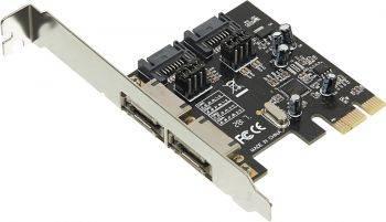 Контроллер PCI-E ASM1061 SATA III 2xSATA