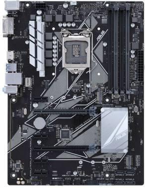 Материнская плата Asus PRIME Z370-P, гнездо процессора LGA 1151v2, чипсет Intel Z370, память 4xDDR4, форм-фактор ATX, звук AC`97 8ch(7.1), RAID, разъемы GbLAN