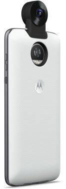 Внешний мод фотокамера Motorola 360 Camera для Moto Z/Z Play белый (ASM360CMWHEE)