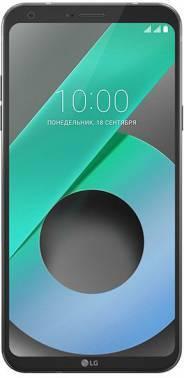Смартфон LG M700AN Q6 черный, встроенная память 32Gb, дисплей 5.5 2160x1080, Android 7.0, камера 13Mpix, поддержка 3G, 4G, 2Sim, 802.11bgn, BT, GPS, FM радио, microSDXC до 2048Gb (LGM700AN.ACISBK)