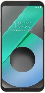 Смартфон LG M700AN Q6 золотистый, встроенная память 32Gb, дисплей 5.5 2160x1080, Android 7.0, камера 13Mpix, поддержка 3G, 4G, 2Sim, 802.11bgn, BT, GPS, FM радио, microSDXC до 2048Gb (LGM700AN.ACISKG)