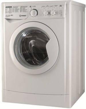 Стиральная машина Indesit EWC 61052 B, белый корпус, белый люк, фронтальная загрузка до 6кг, максимальная скорость отжима 1000об/мин