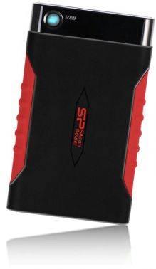 Внешний жесткий диск 500Gb Silicon Power A15 Armor черный / красный USB 3.0