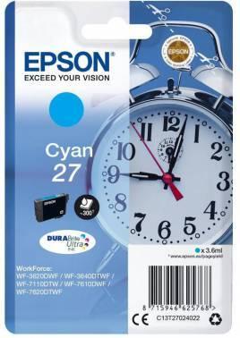 Картридж Epson T2702 голубой (C13T27024022)