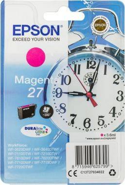Картридж Epson T2702 пурпурный (C13T27034022)