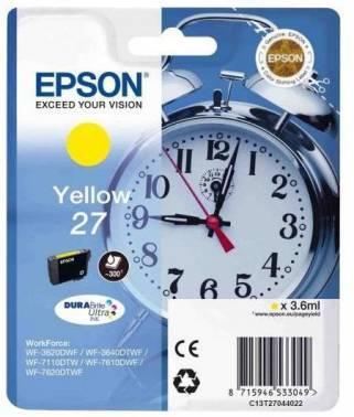 Картридж Epson T2702 желтый (C13T27044022)