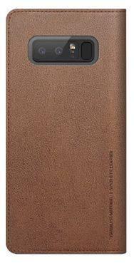 Чехол Samsung designed for Samsung Mustang Diary, для Samsung Galaxy Note 8, коричневый (GP-N950KDCFAAD)