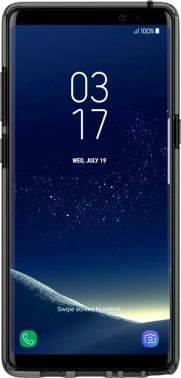 Чехол Samsung araree Airfit, для Samsung Galaxy Note 8, черный/прозрачный (GP-N950KDCPAAB)