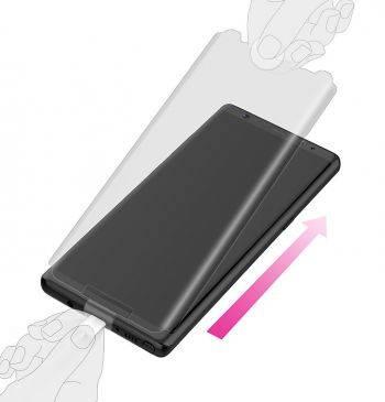 Защитная пленка Samsung araree GP-N950KDEFAAA для Samsung Galaxy Note 8 прозрачная