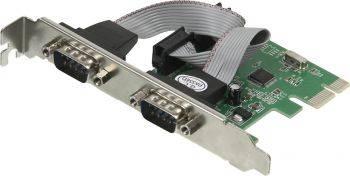 Контроллер PCI-E WCH382, 2xCOM, Ret (ASIA PCIE WCH 2S LP)