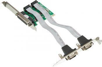 Контроллер PCI-E WCH382, 1xLPT, 2xCOM, Ret (ASIA PCIE WCH 2S1P LP)