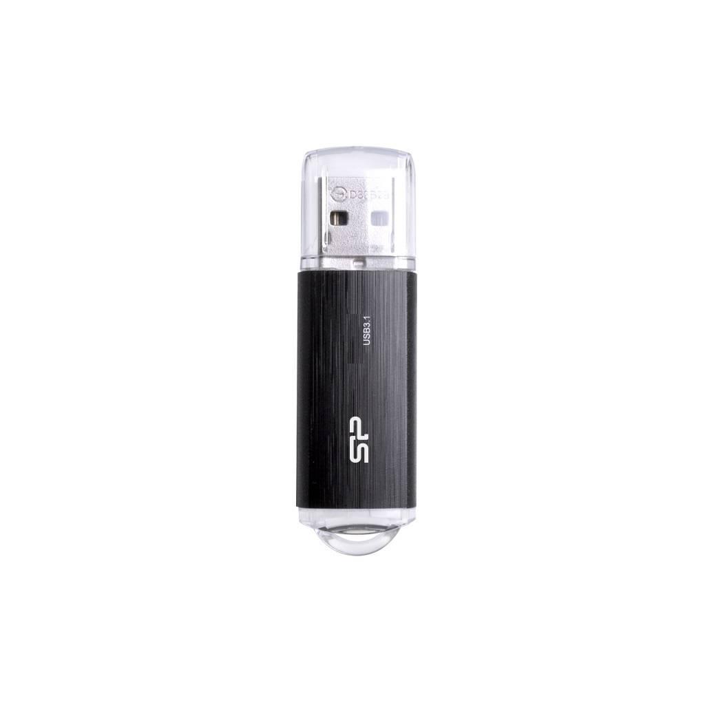 Флеш диск Silicon Power Blaze B02 16ГБ USB3.1 черный (SP016GBUF3B02V1K) - фото 1