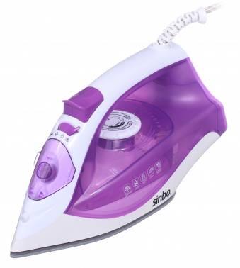 Утюг Sinbo SSI 6618 фиолетовый/белый