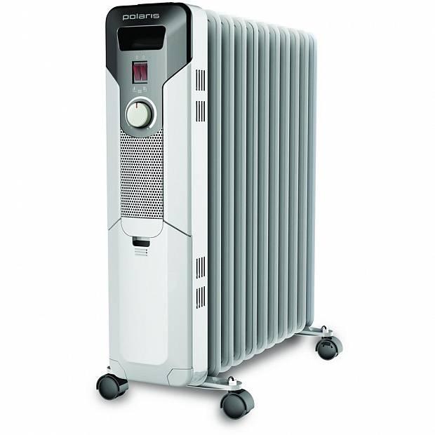 Масляный радиатор Polaris PRE N 1125 белый - фото 1