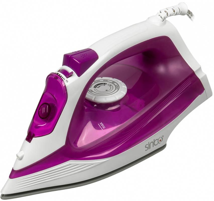 Утюг Sinbo SSI 6619 фиолетовый/белый - фото 1