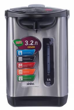 Термопот Sinbo SK 7380 черный/серебристый
