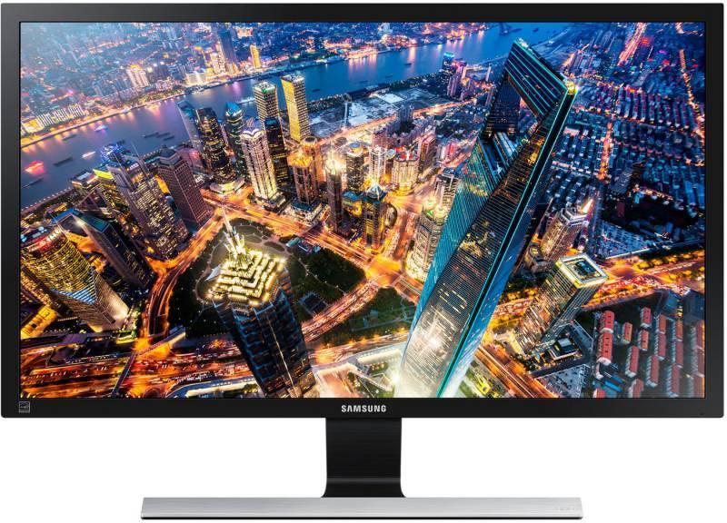 """Монитор 28"""" Samsung U28E590D черный (LU28E590DS/RU) - фото 1"""